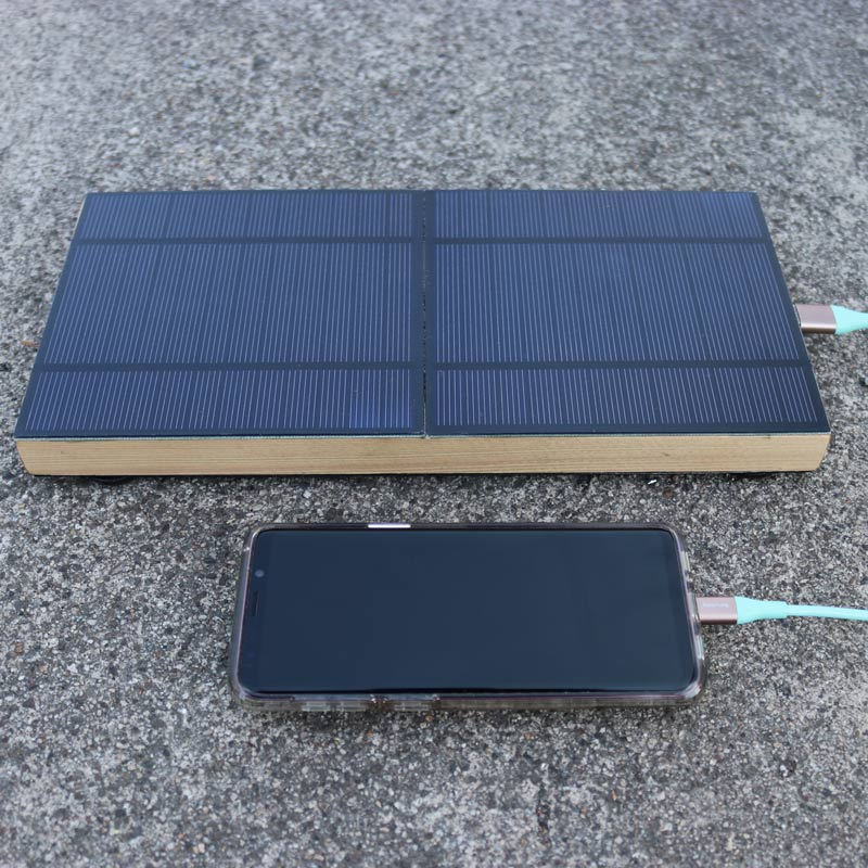 Solarrolla Currentcy Cell Phone/iPad/Tablet Charger